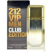Туалетная вода 100 мл Carolina Herrera 212 VIP Men Club Edition